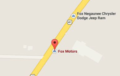 Locate Fox Motors with Google Maps