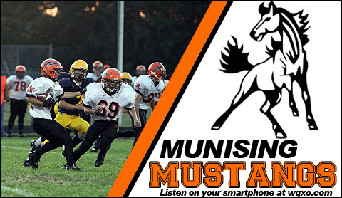 Munising Mustangs Sports Games on GTO.fm