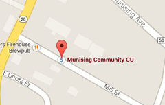 Locate the UP Community Credit Union on Google Maps