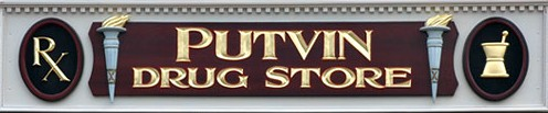 Putvins Drug Store in Munising