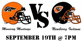 Support the Munising Mustangs this Friday