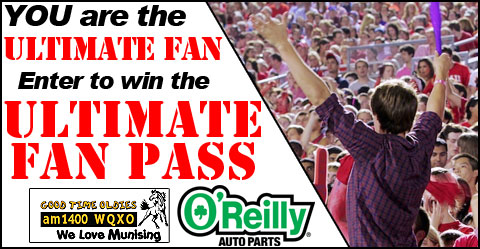 You could win the $4,200 Ultimate Fan Pass!