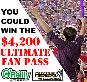 Win the $4,200 Ultimate Fan Pass!