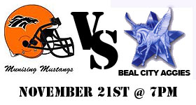 Support the Munising Mustangs this Saturday