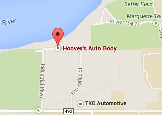 Find Hoovers Auto Body on Google Maps
