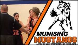 The Munising Mustangs play on 1400am GTO Good Time Oldies and WQXO.com!