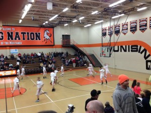 Munising Mustang boys basketball vs Newberry Indians on Tuesday, March 3rd, 2015 on 1400am GTO Good Time Oldies and WQXO.com!