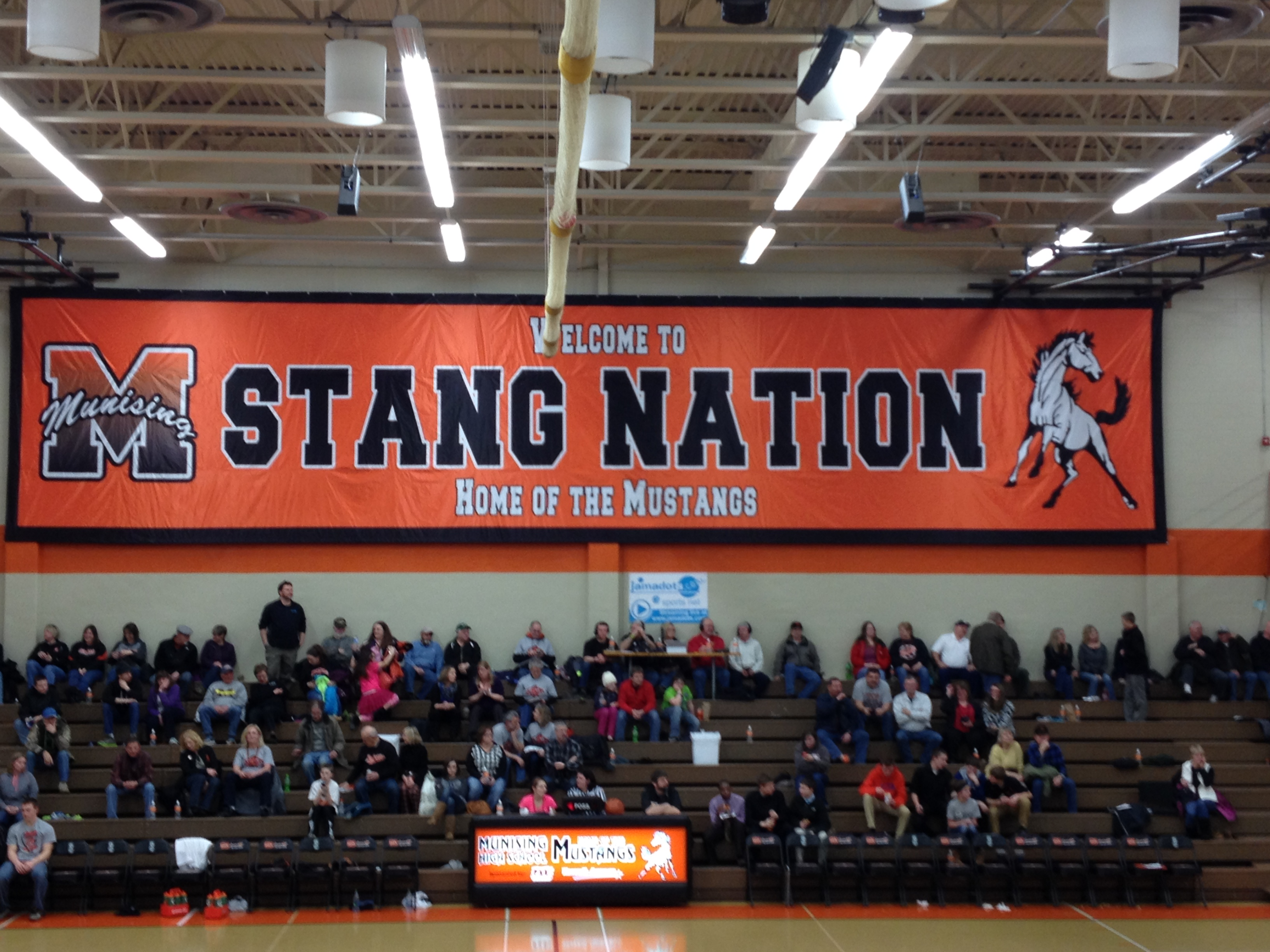 Michigan alger county munising - The Stands Were Filled As Your Munising Mustang Boys Took On The Newberry Indians On Tuesday