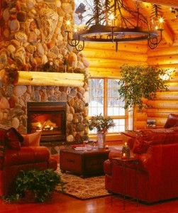 Make a beautiful stonework fireplace the centerpiece of your dream home.