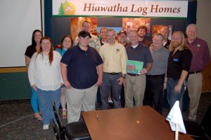 Congrats Brian MacFalda from the team at Hiawatha Log Homes and Great Lakes Radio