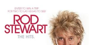 See Rod Stewart LIVE in Las Vegas