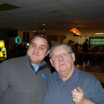 Nate and Lane enjoying the evening at Red Rock Lanes