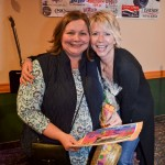 Here's giveaway winner Sandi Heikkinen and Laura from Holiday Travel