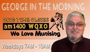 George In The Morning on WQXO