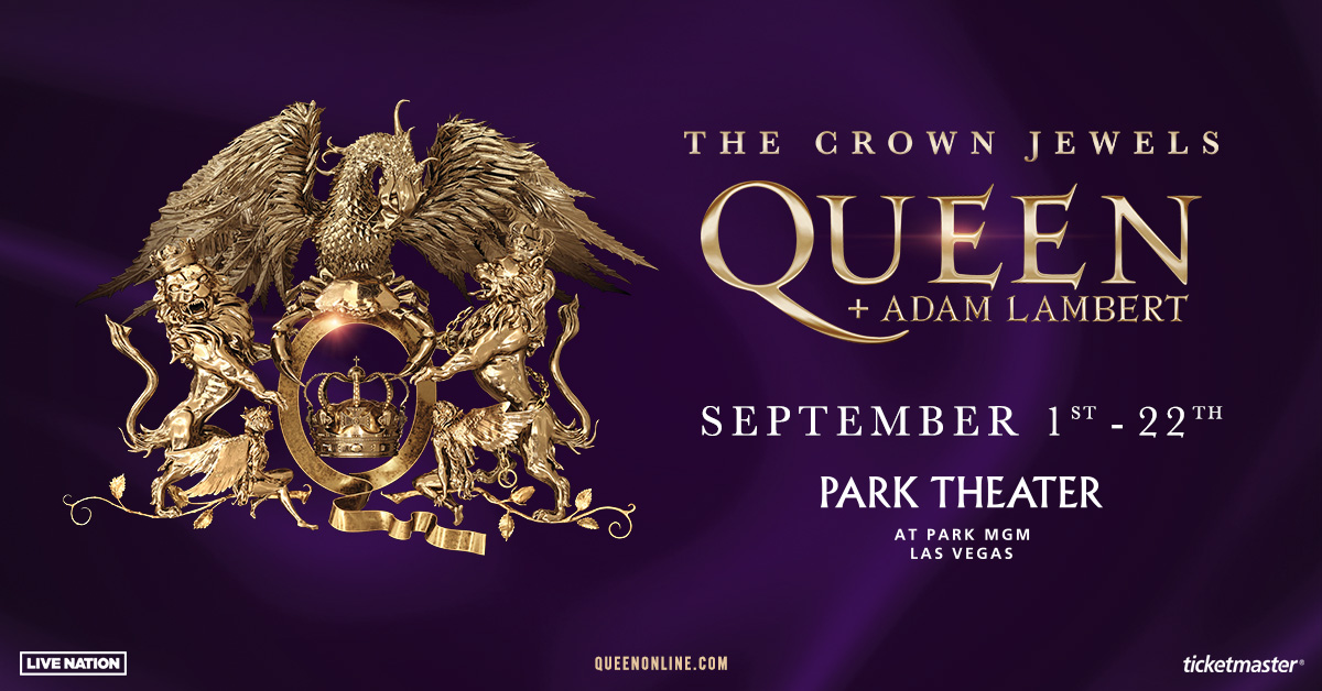 See Queen and Adam Lambert in Vegas