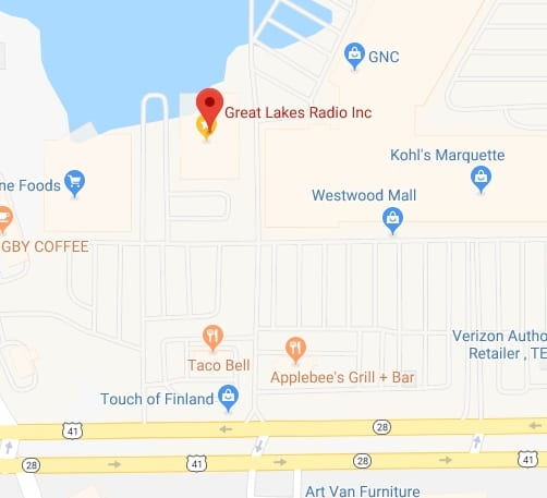 Get directions to Great Lakes Radio