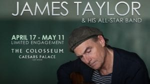 Win a Trip to Vegas to See James Taylor & His All-Star Band
