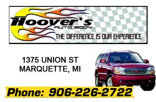 Hoovers Auto Body - Phone: 906-226-2722